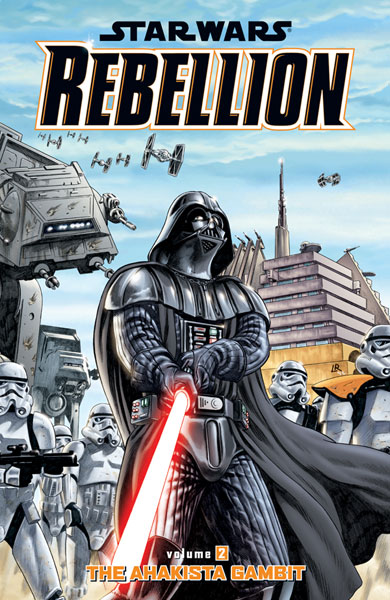 Image: Star Wars: Rebellion Vol. 02 - The Ahakista Gambit SC  - Dark Horse