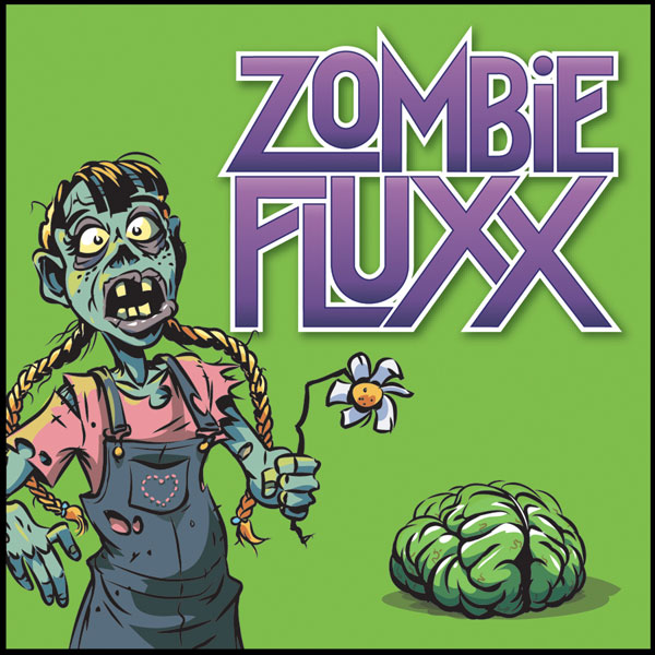 Image: Zombie Fluxx Card Game Display Box  -
