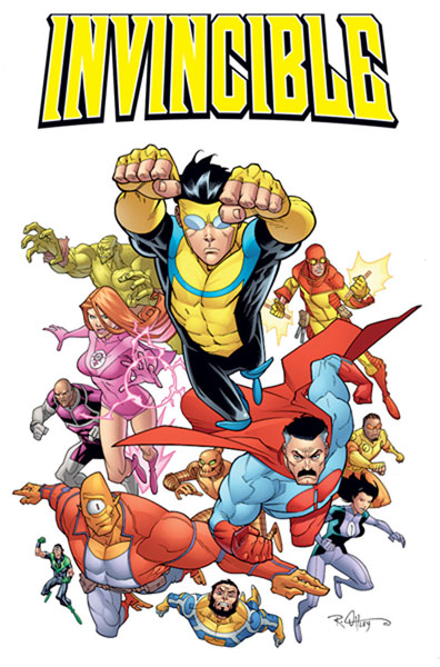Image: Invincible: Cast Poster  -