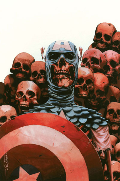 Image: Captain America: Chosen #5 (Charest Cover) - Marvel Comics