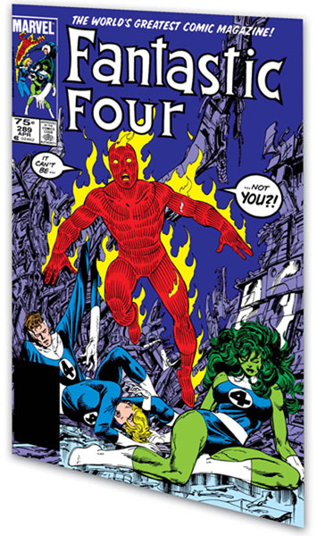 Image: Fantastic Four Visionaries: John Byrne Vol. 08 SC  - Marvel Comics