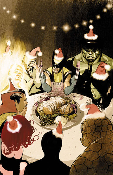 Image: Marvel Holiday Special 2007 #1 - Marvel Comics
