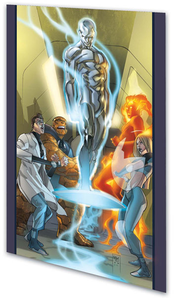 Image: Ultimate Fantastic Four Vol. 09: Silver Surfer SC  - Marvel Comics