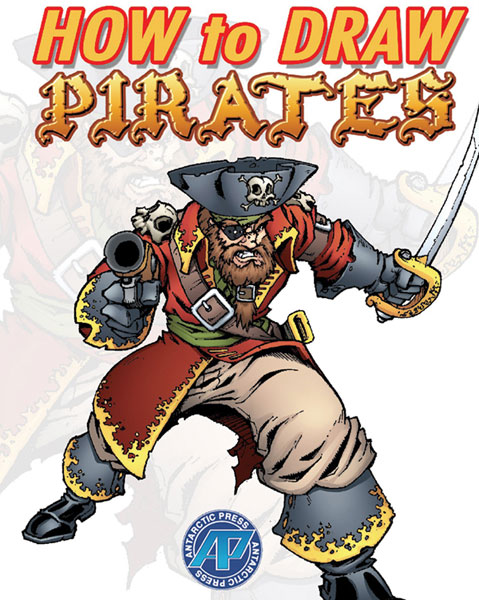 Image: How to Draw Pirates SC  - Antarctic Press