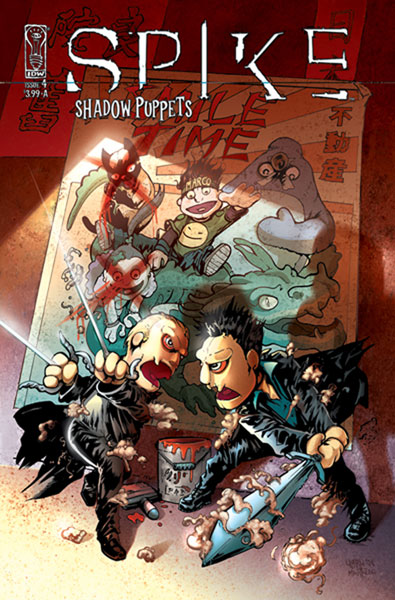 Image: Spike: Shadow Puppets SC  - IDW Publishing