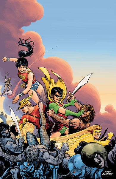 Image: Teen Titans: The Lost Annual #1 - DC Comics