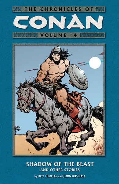 Image: Chronicles of Conan Vol. 14: Shadow of the Beast and Other Stories SC  - Dark Horse