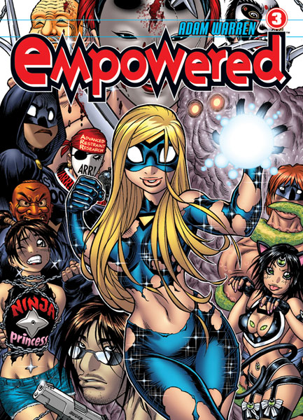 Image: Empowered Vol. 3 SC  - Dark Horse