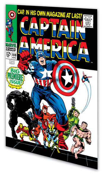 Image: Essential Captain America Vol. 01 SC  - Marvel Comics