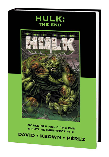 Image: Marvel Premiere Classic Vol. 8: Hulk - The End HC  - Marvel Comics