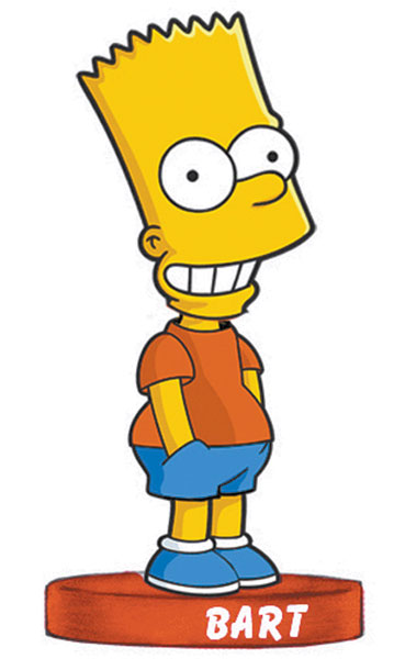 Image: Simpsons Series Bobble-Head: Bart  -