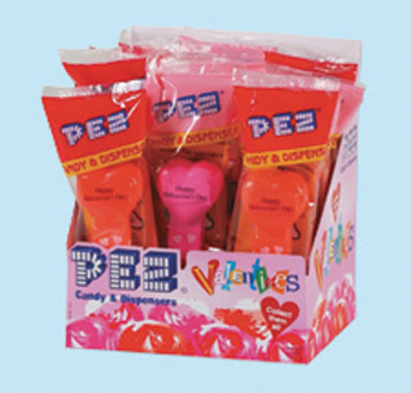 Image: Pez Valentine  (12 assorted dispensers) -