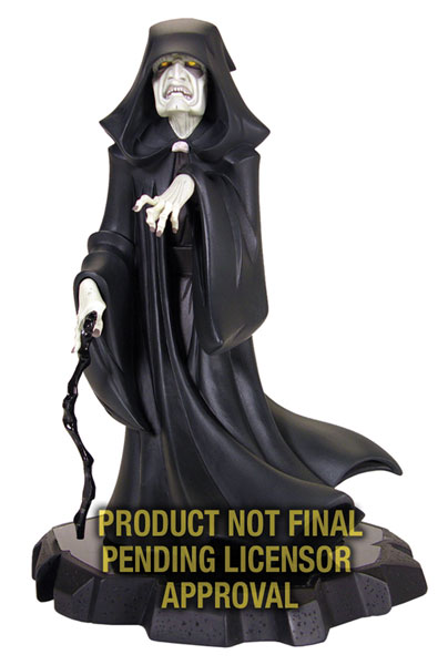 Image: Star Wars: Emperor Palpatine Animated Maquette  -