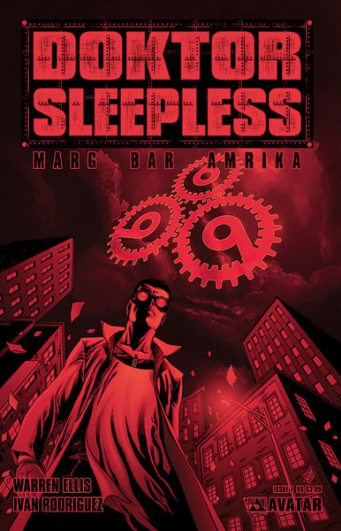 Image: Doktor Sleepless #7 - Avatar Press Inc