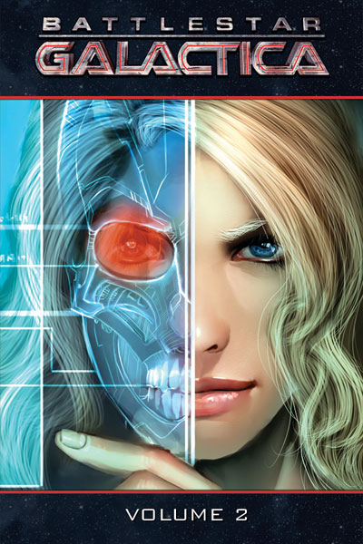 Image: Battlestar Galactica Vol. 2 HC  - D. E./Dynamite Entertainment