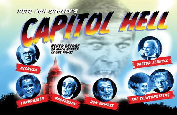Image: Capitol Hell Postcard Book  - Denis Kitchen Publishing Co.