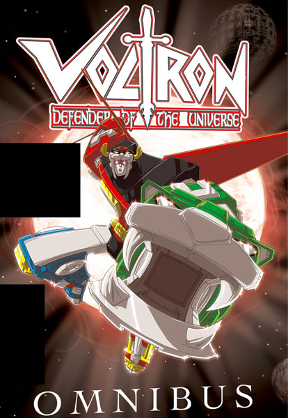 Image: Voltron Defender of the Universe Omnibus HC  - Devil's Due Publishing Inc