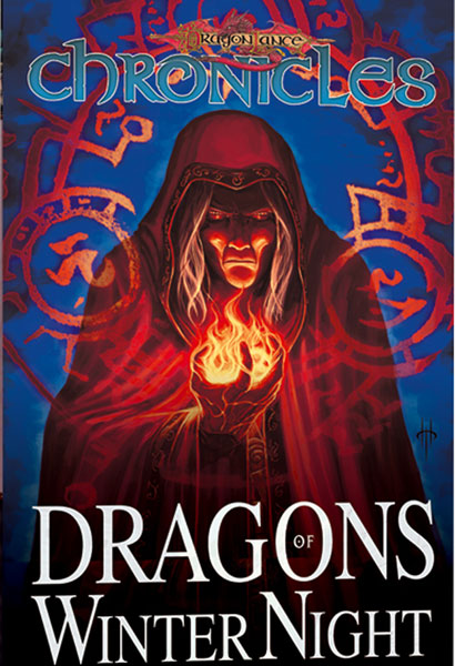Image: Dragonlance Chronicles Vol. 02: Dragons of Winter Night SC  - Devil's Due Publishing Inc