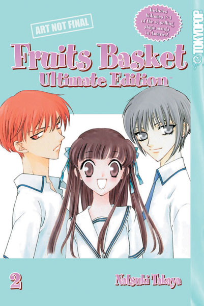 Image: Fruits Basket Ultimate Edition Vol. 02 HC  - Tokyopop