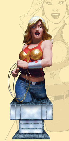 Image: Women of the DCU Series 2 Bust: Wonder Girl  -