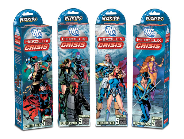 Image: DC Heroclix Crisis Booster Pack  -