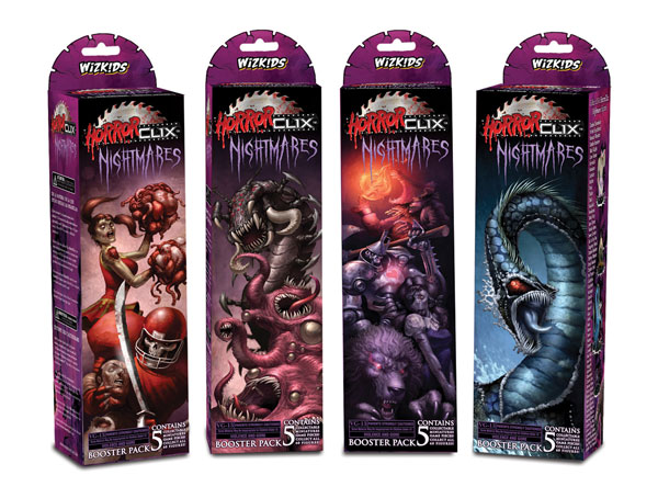 Image: Horrorclix Booster Pack: Nightmares  -