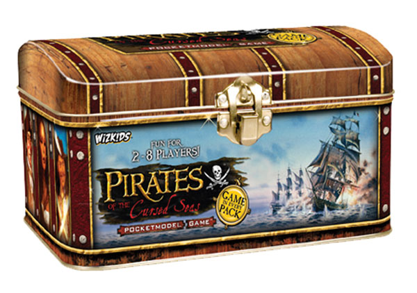 Image: Pirates of the Cursed Seas Pocketmodel Game Treasure Chest  -