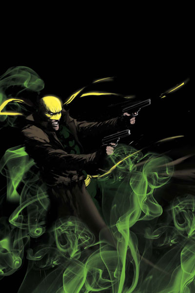 Image: Immortal Iron Fist: Orson Randall and the Green Mist of Death #1 - Marvel Comics