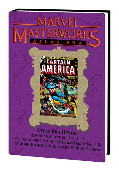 Image: Marvel Masterworks Vol. 92: Atlas Era Heroes Vol. 02  (variant hc) - Marvel Comics