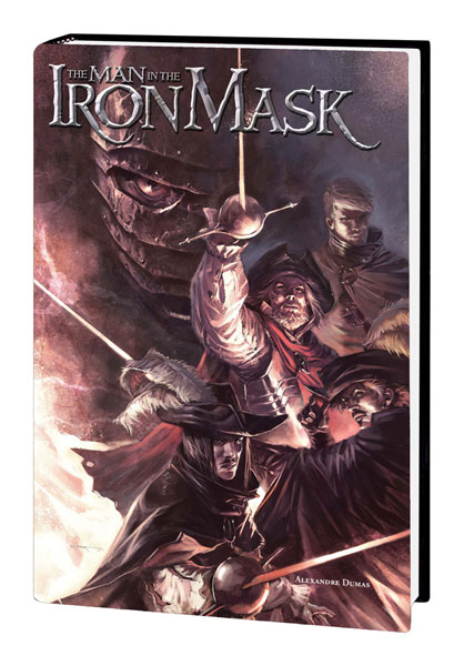 Image: Marvel Illustrated: The Man in the Iron Mask HC