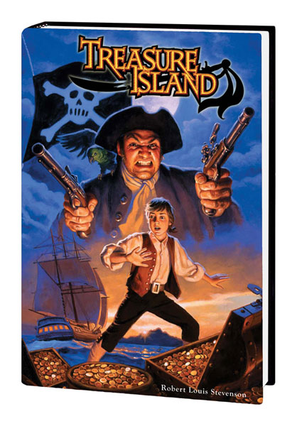 Image: Marvel Illustrated: Treasure Island HC  - Marvel Comics