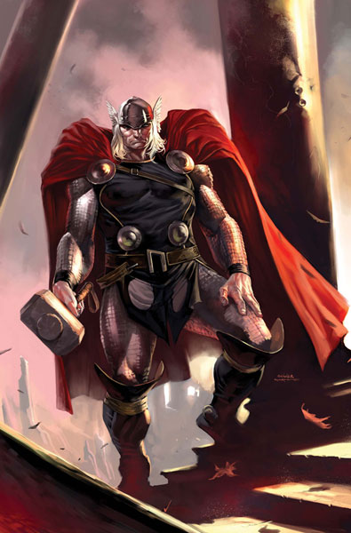Image: Thor by Coipel & Djurdjevic Poster  -