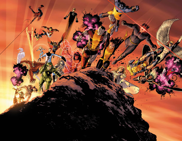 Image: Giant Size Astonishing X-Men Poster  -