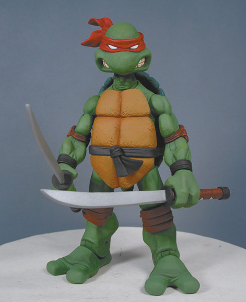 Image: Teenage Mutant Ninja Turtles Series 1 AF Case  (14 assorted figures) -