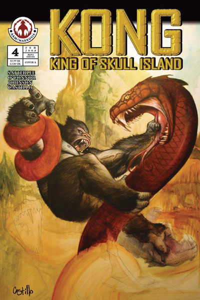 Image: Kong: King of Skull Island #4 (Cover A) - AAM Markosia