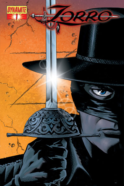 Image: Zorro #1 (Matt Wagner Cover) - D. E./Dynamite Entertainment