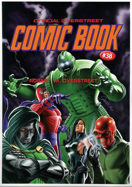 Image: Overstreet Comic Book Price Guide Vol. 38: Marvel Villains HC  - Gemstone Publishing