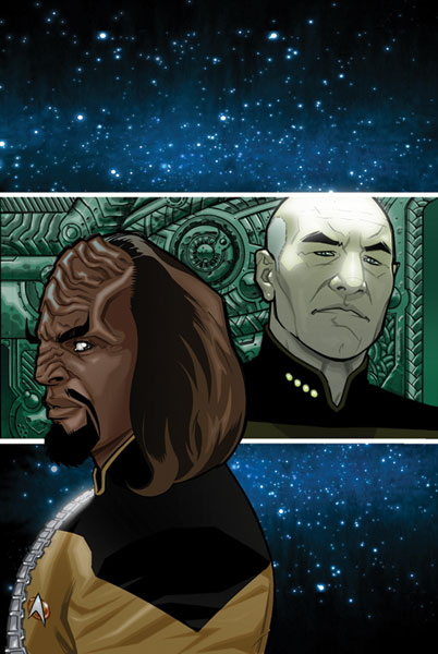 Image: Star Trek: TNG - Intelligence Gathering #2 (Cover B) - IDW Publishing