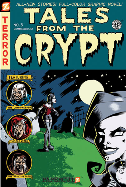 Image: Tales from the Crypt Graphic Novel #3: Zombielicious SC  - Papercutz
