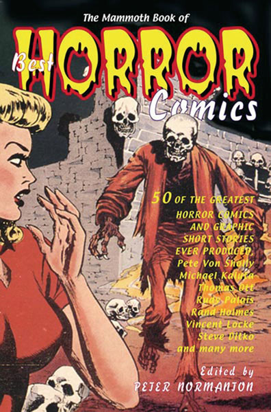Image: Mammoth Book of Best Horror Comics SC  - Running Press