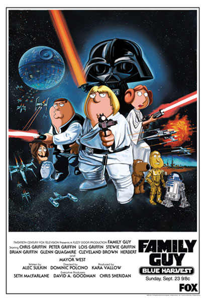 Image: Family Guy Blue Harvest Lithograph  -