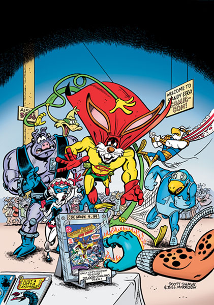Image: Captain Carrot and the Final Ark SC  - DC Comics