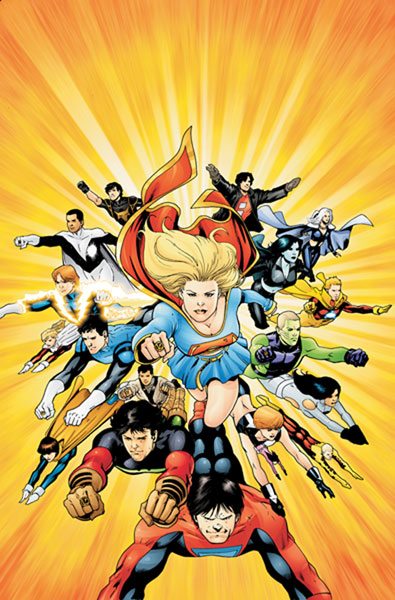 Image: Supergirl and the Legion of Super-Heroes: The Quest for Cosmic Boy SC  - DC Comics