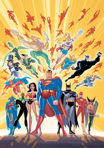 Image: Justice League Unlimited: The Ties That Bind SC  - DC Comics