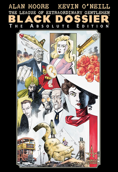 Image: Absolute League of Extraordinary Gentlemen: Black Dossier HC  - DC Comics
