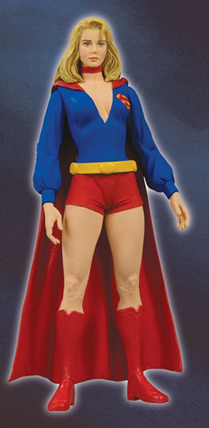 Image: Justice Series 8 Action Figure: Supergirl  -