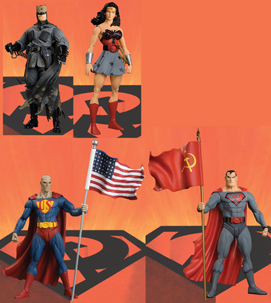 Image: Elseworlds Red Son Action Figure Box Set  -