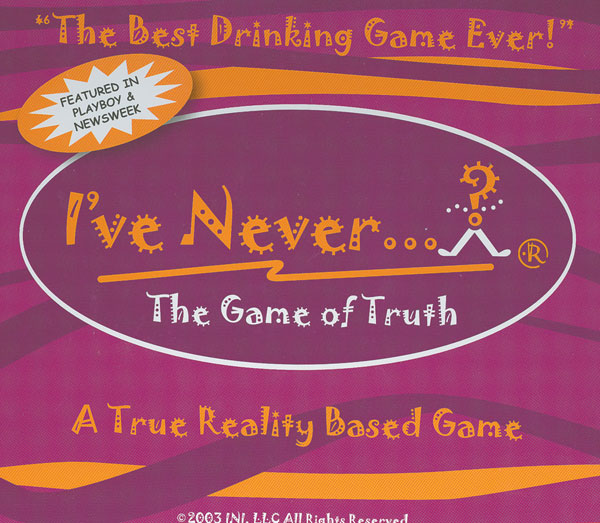 Image: I've Never? Board Game  -