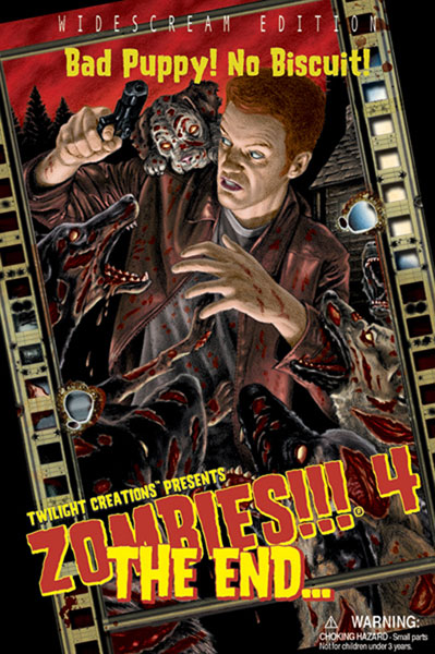 Image: Zombies!!! 4: The End  (2nd ed.) -