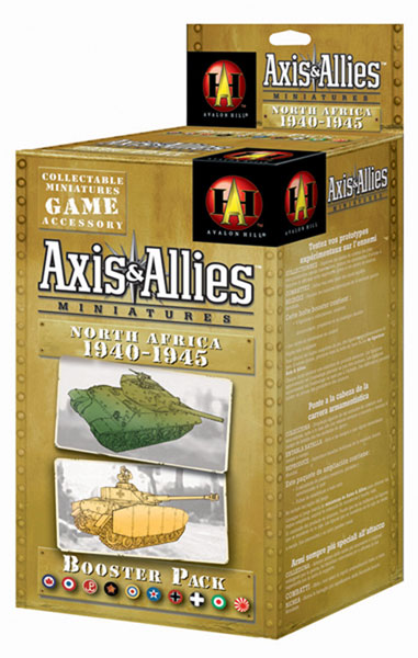 Image: Axis & Allies CMG: North Africa 1940-1943 Booster Pack  -